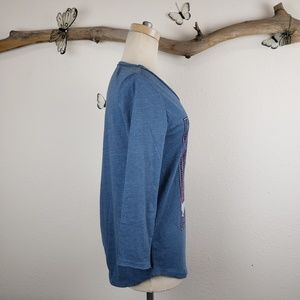 Lucky Brand Tops - Lucky brand peacock long sleeve tshirt